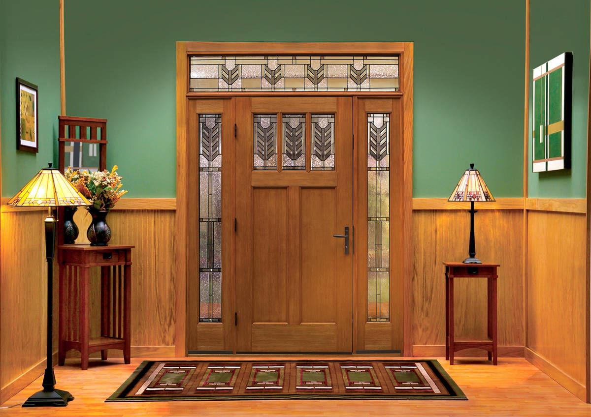 Fiberglass A Popular Wood Alternative For Front Door Features