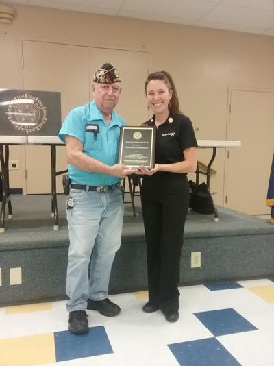 AMERICAN LEGION: Post 320 honors Mission BBQ for service to veterans
