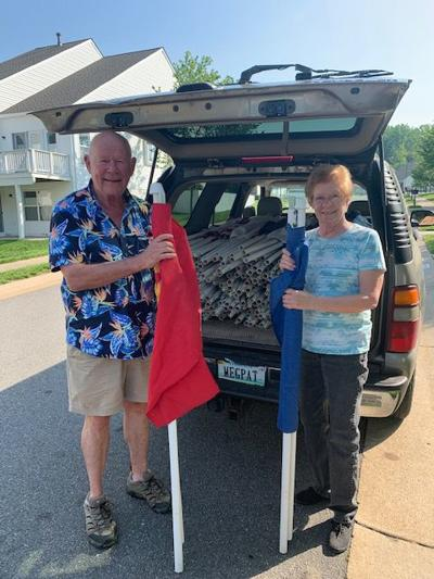 FLAGS FOR HEROES: North Stafford Rotary Club retreat ceremony is June 14