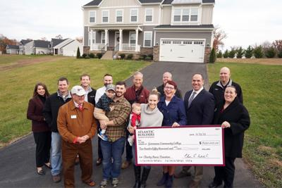 Atlantic Builders and its trade partners donate $250,000 from sale of new home in Stafford County to Germanna Community College