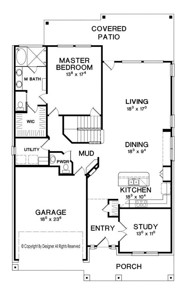 Footage Open Floor House Plans Designs Html on