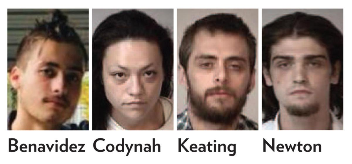 Four charged in connection with Metzger case (copy) (copy)