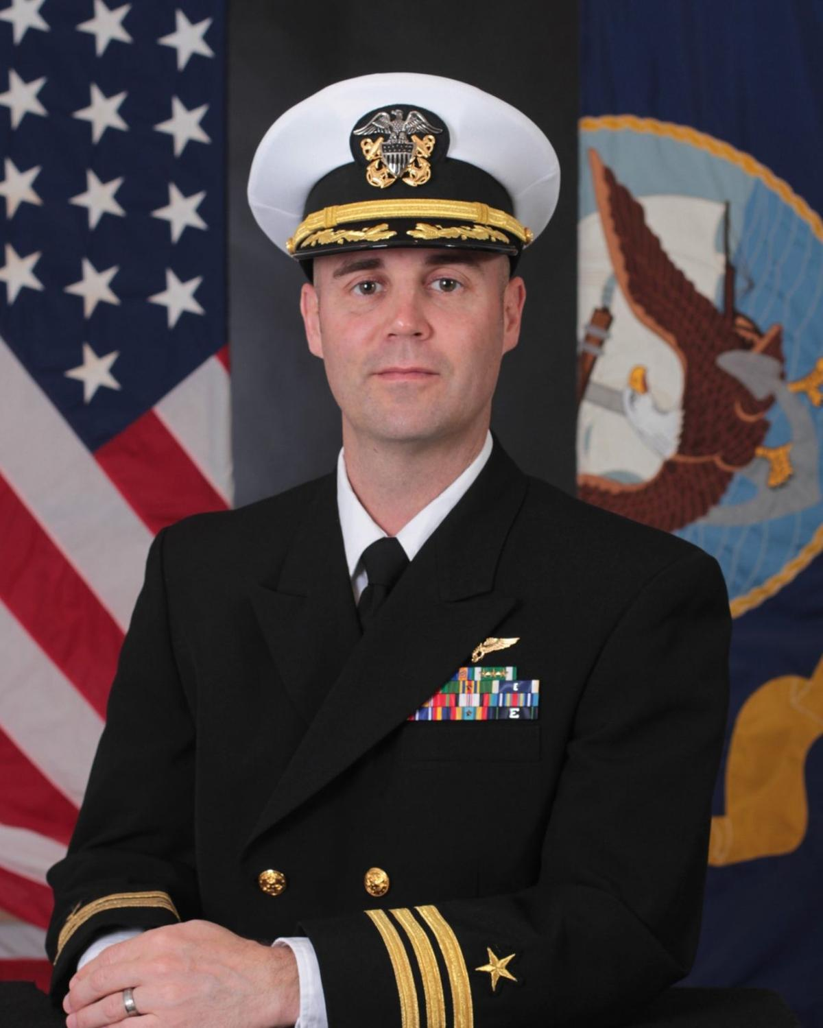 Cmdr. Dustin W. Peverill