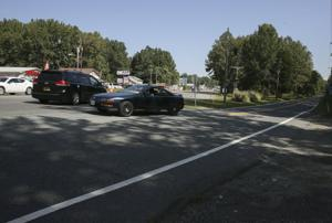 A temporary fix for a treacherous intersection in Stafford