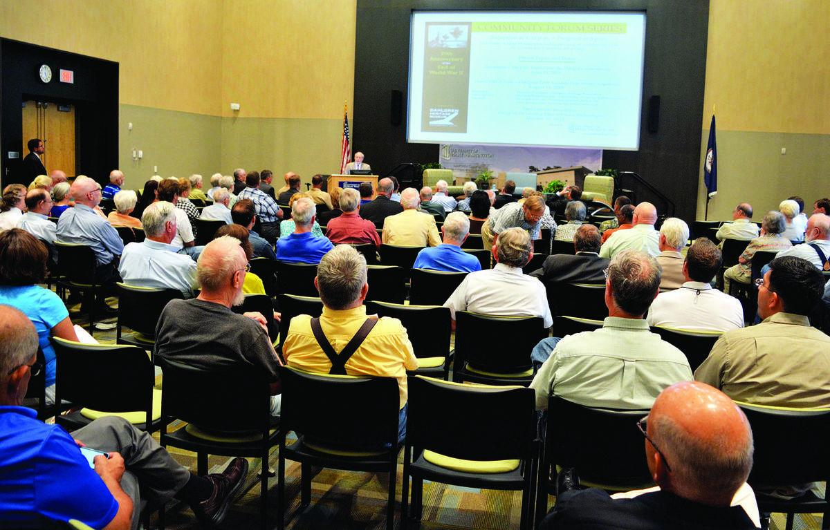 Navy base at Dahlgren 'played a key role in winning' World War II, vice admiral says at community forum