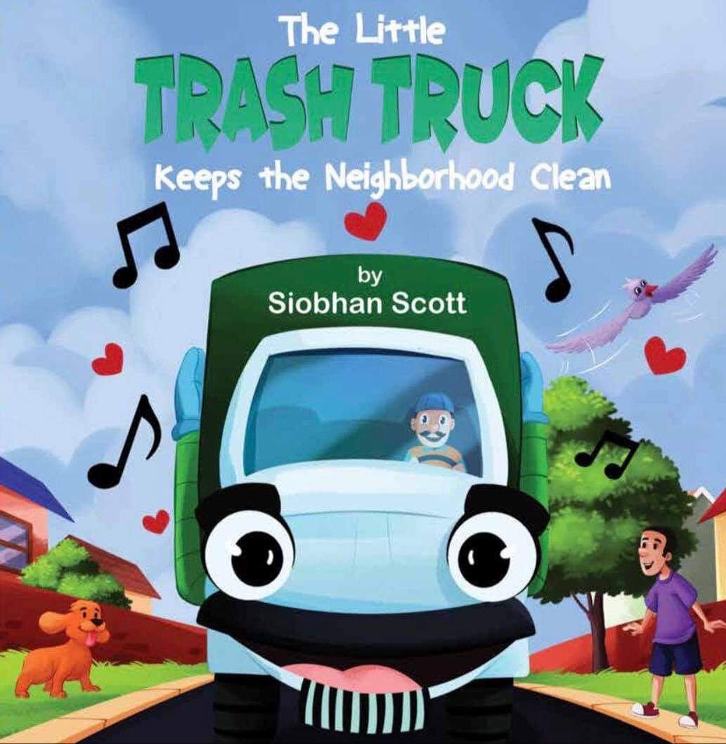 The Little Trash Truck Keeps the Neighborhood Clean