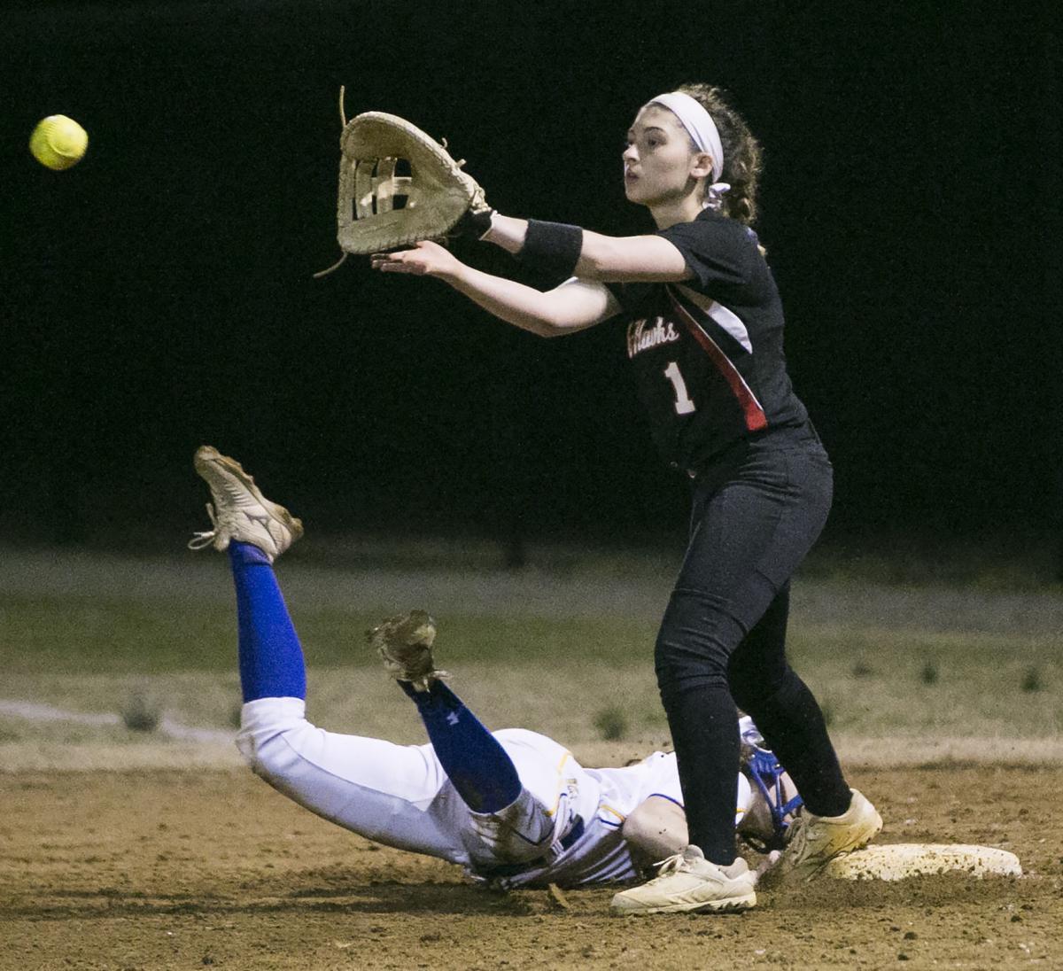 Stafford vs Brooke Point softball