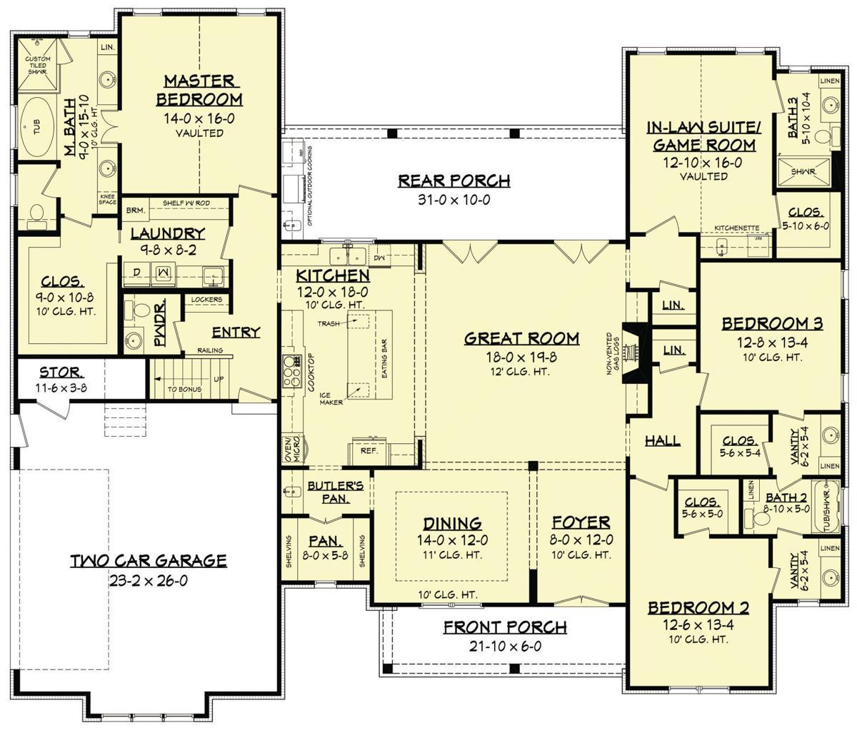 House Offers Farmhouse Flair With A Modern Floor Plan House And Home Fredericksburg Com