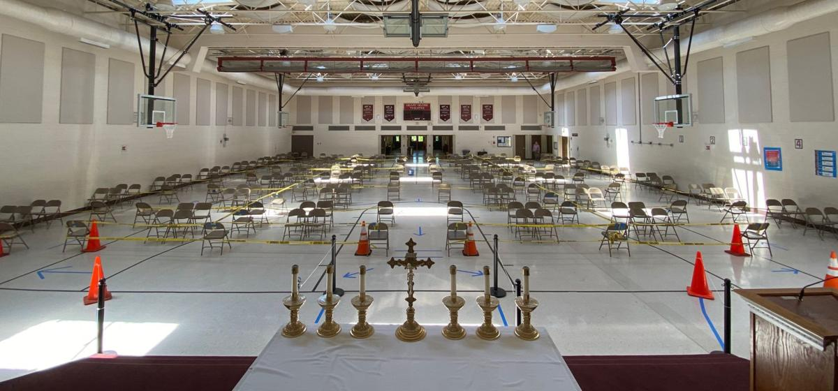 Holy Cross Academy gym