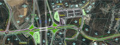 Route 630 commuter lot design