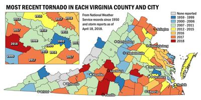 Map Of Virginia And Maryland Cities.Cities Rivers And Hills Won T Stop A Tornado And No Part Of