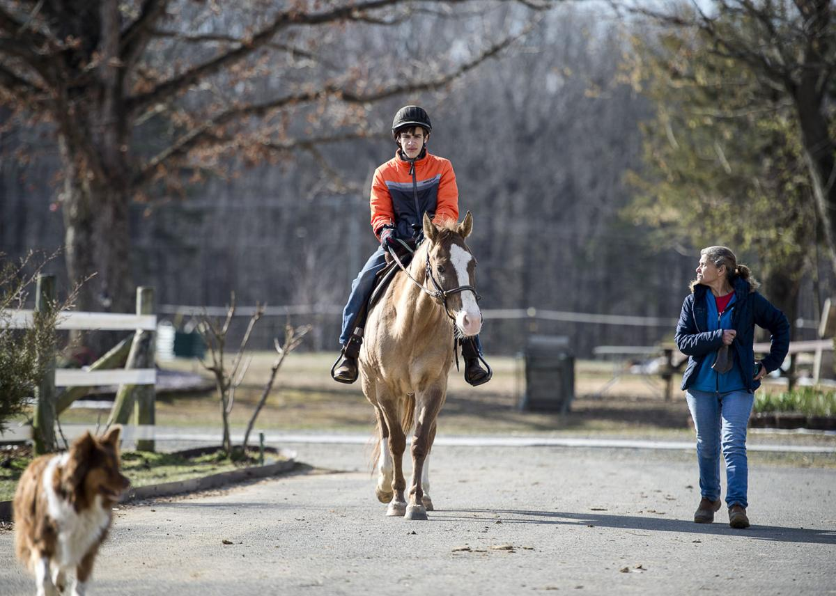Equine physical therapy - Gokovski S B R Ranch In Stafford Offers An Equine Therapy Program For People With Physical
