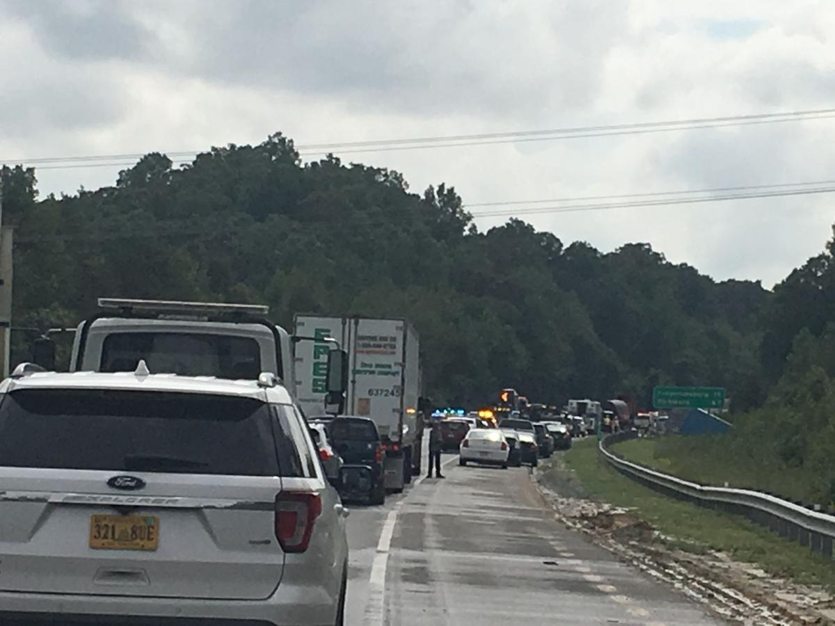At least 15 hurt in multiple crashes on Interstate 95 in