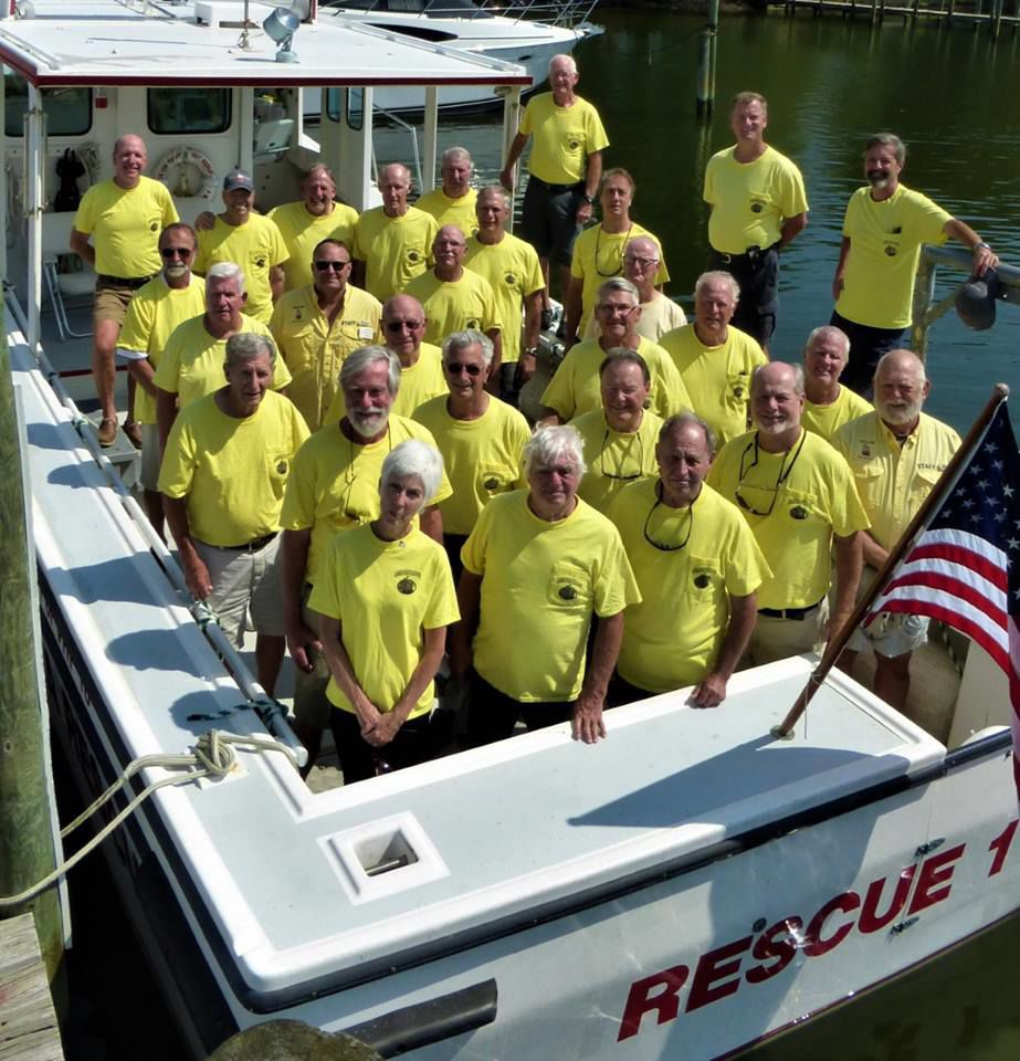 Smith Point Sea Rescue crews