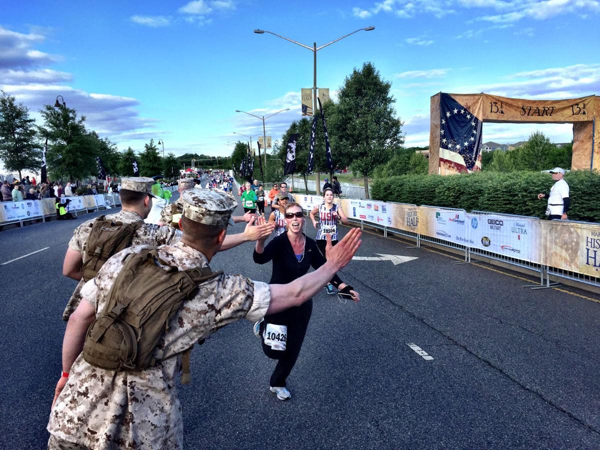 Thousands run in Marine Corps Historic Half marathon (with ...