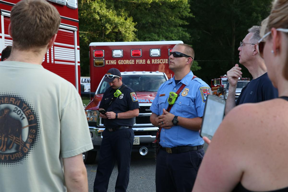 king george church hosts barbecue to thank first responders local news fredericksburg com king george church hosts barbecue to