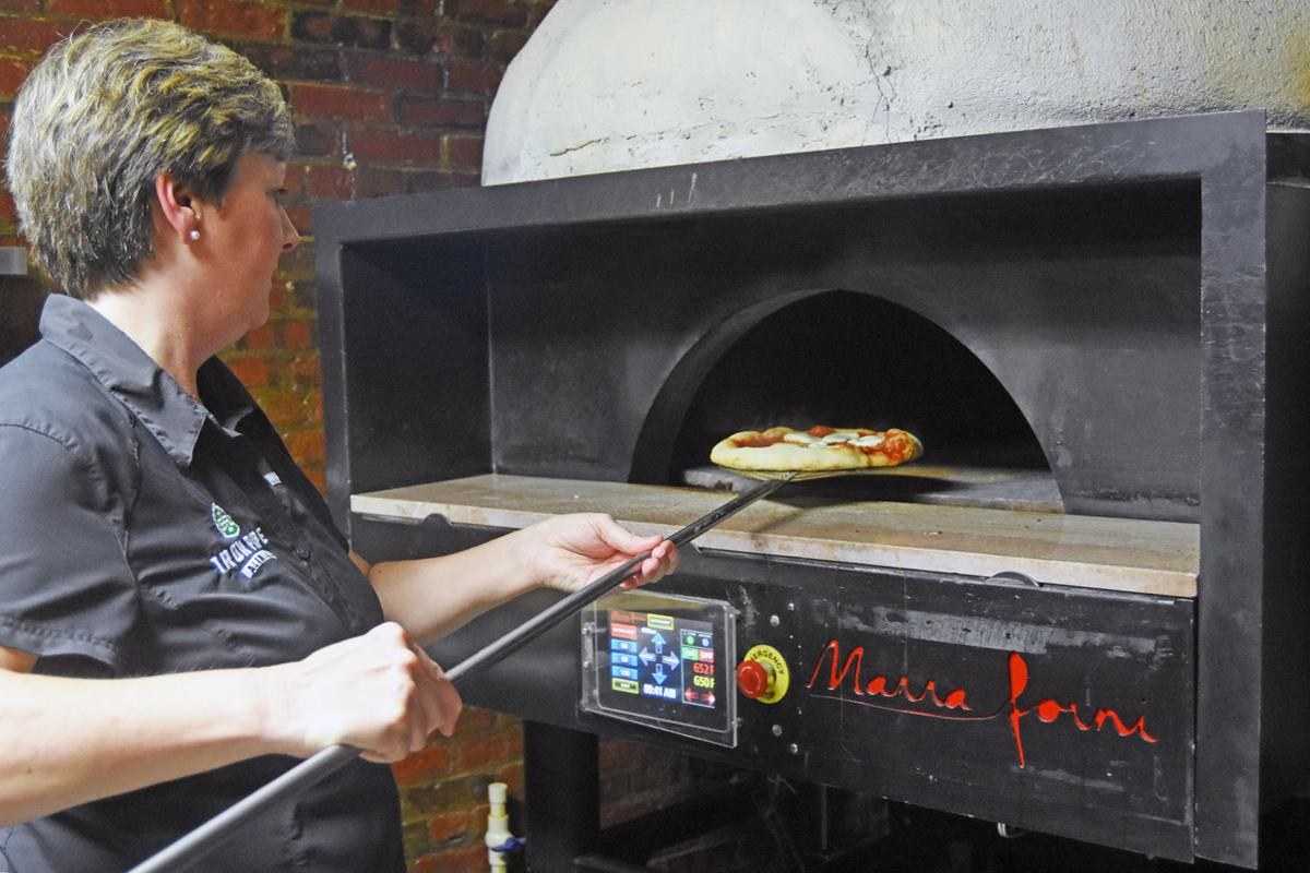 Iron Pipe pizza oven
