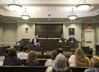 PHOTO: DUI court