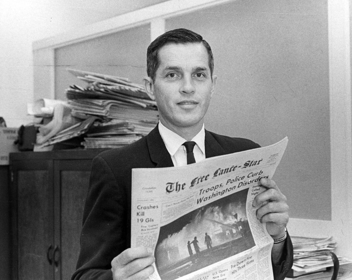 Joe Rowe in 1968