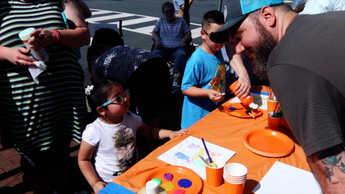 TINY LETTERS>> Kids create art from the heart