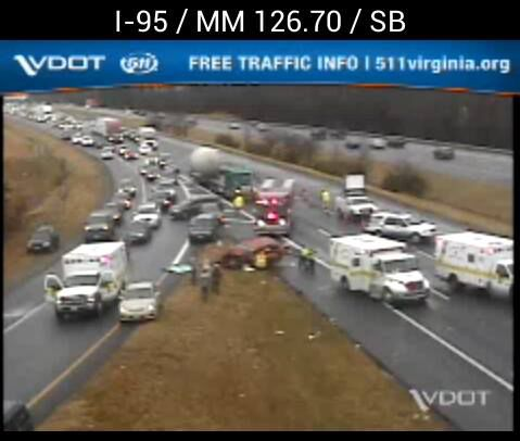 Interstate 95 South reopens after crash, shutdown | Local