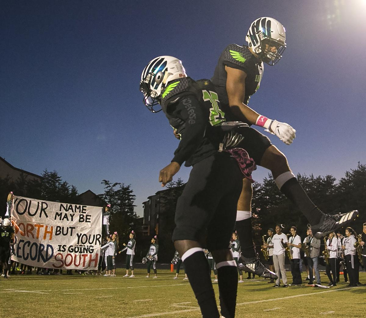 North Stafford at Colonial Forge football