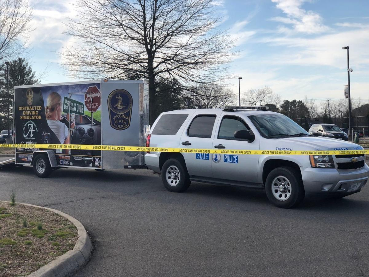 Distracted, impaired driving simulator visits James Monroe High School