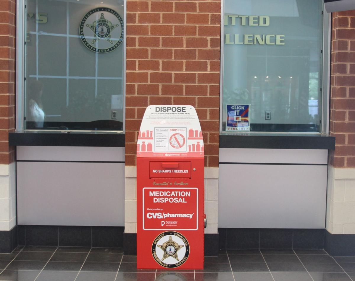 fredericksburg area residents can drop off unused medicines at