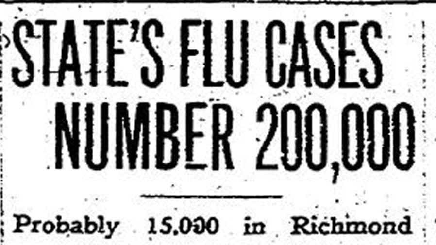 From the archives: 1918 influenza epidemic killed at least