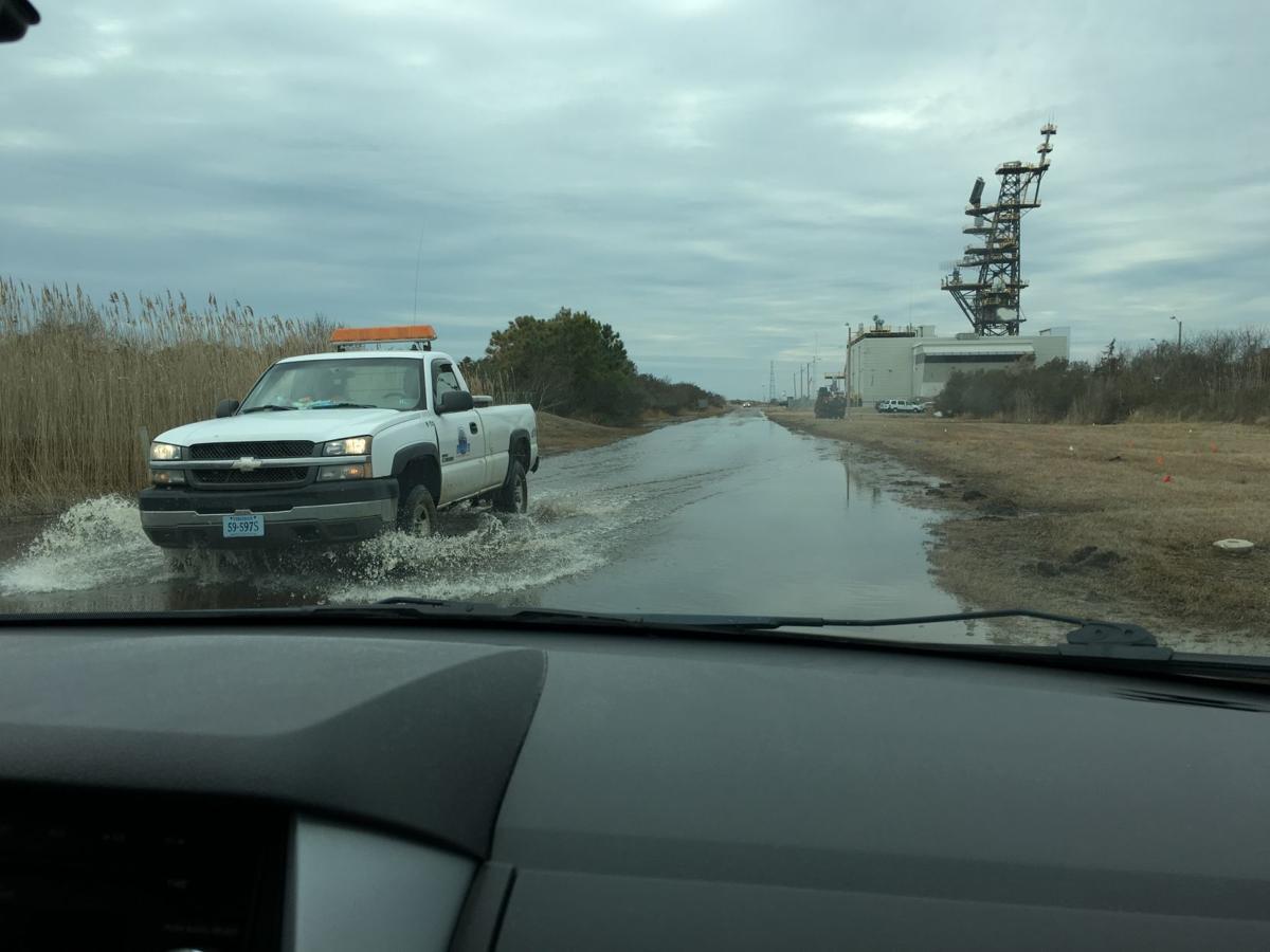 NASA wallops flooding