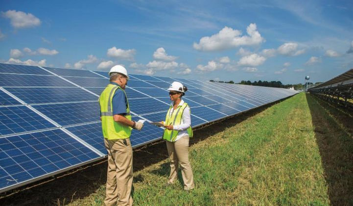 Dominion solar panels