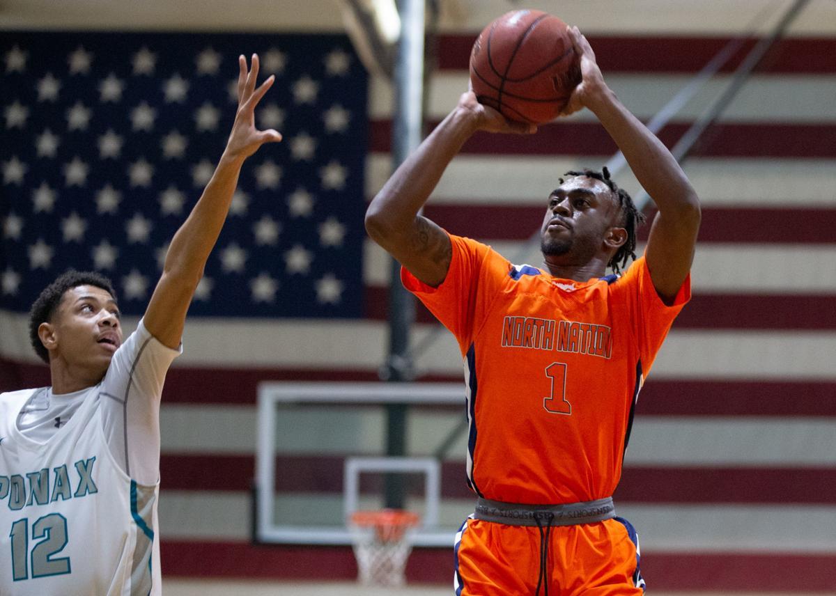 Massaponax vs North Stafford basketball