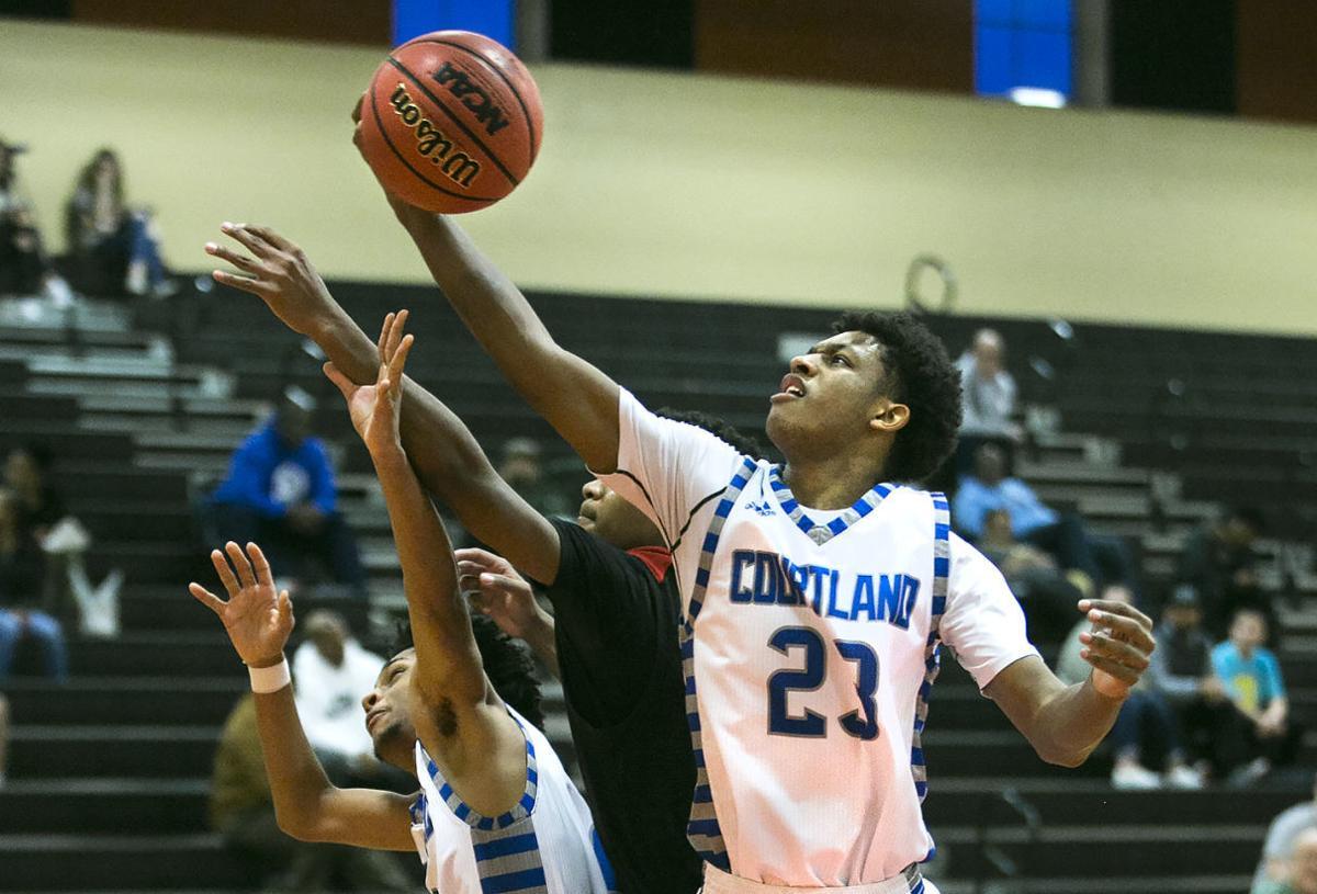 Courtland vs Brooke Point basketball