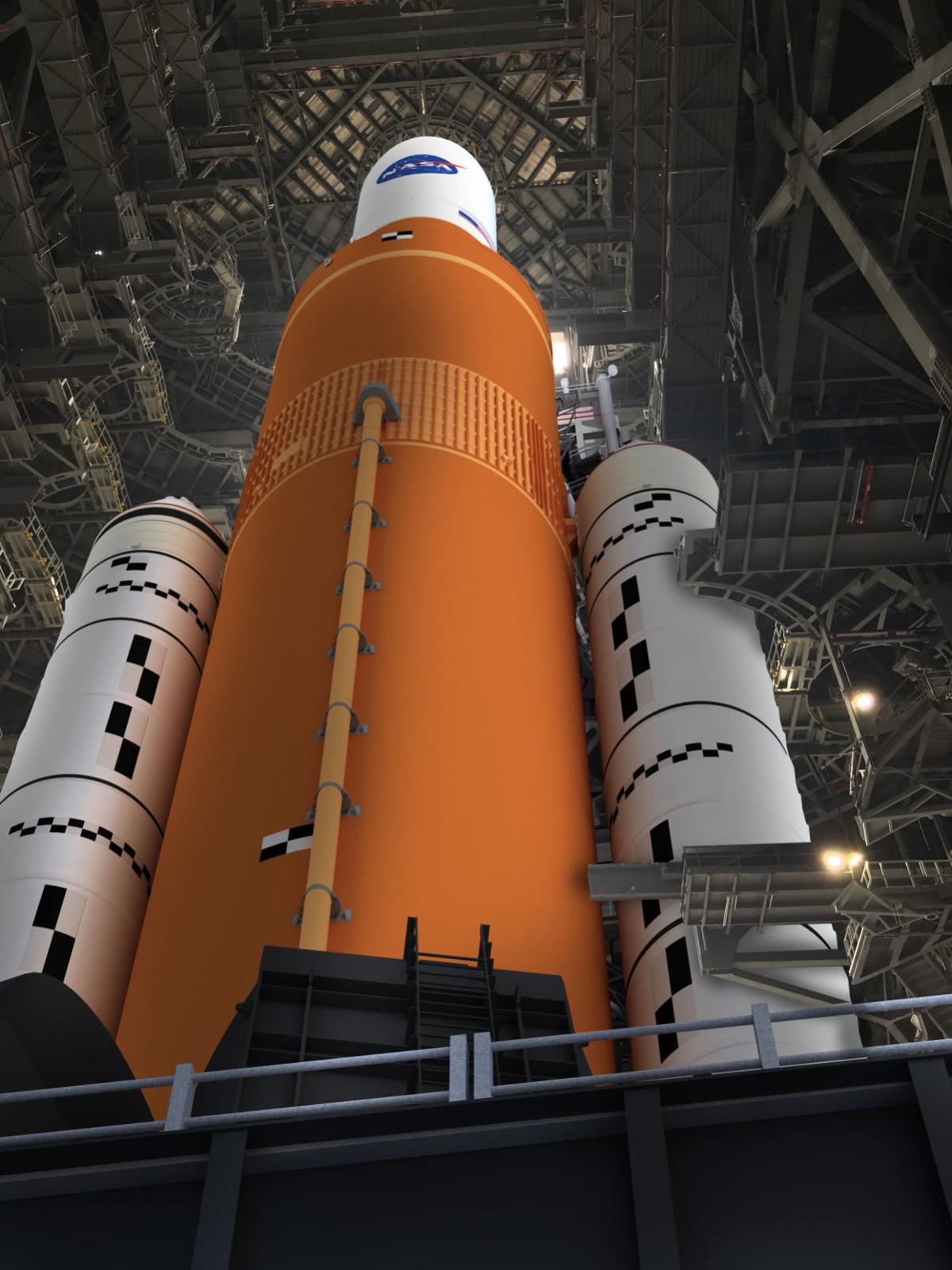 NASA's Space Launch System in its Block 1 configuration