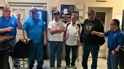 Stafford Moose Lodge presents donation to Special Olympics Area 11