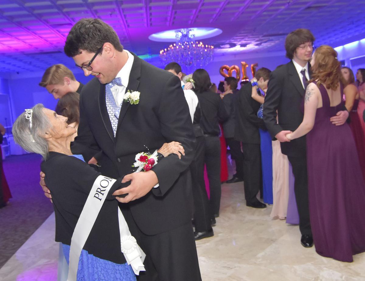 Julia Jarman at prom