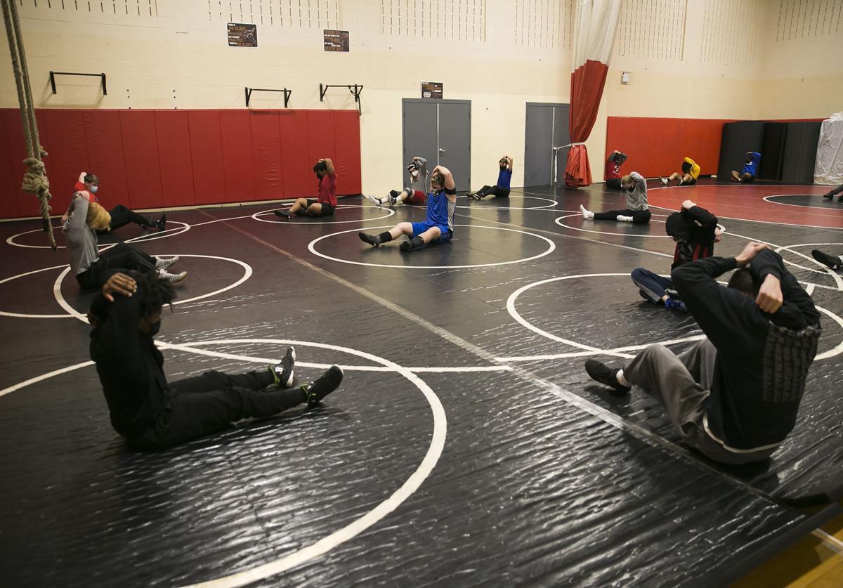 Brooke Point wrestlers