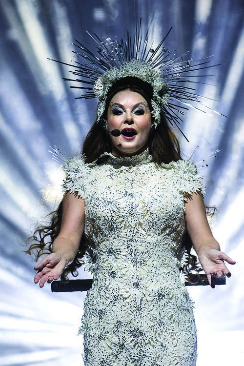 Soprano Sarah Brightman works on song to perform from space | Music ...