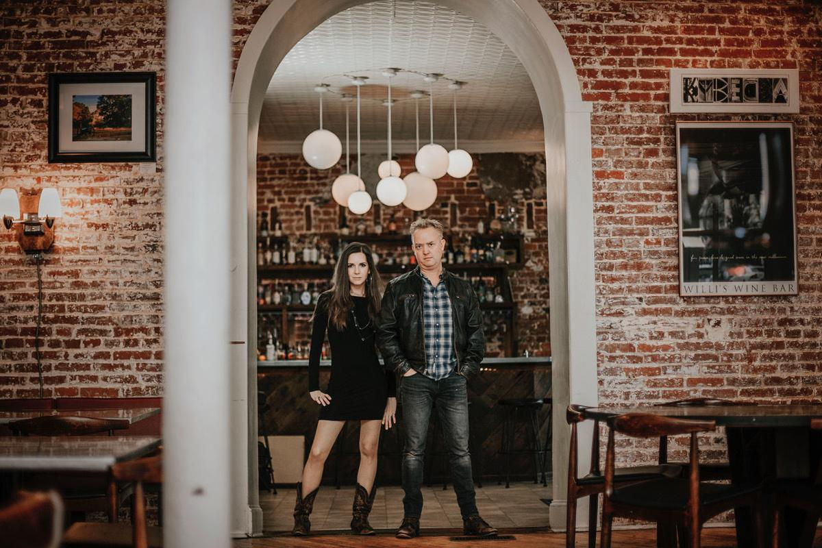 Karen Jonas and Tim Bray