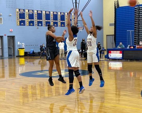 Eastern View King George girls basketball (copy)