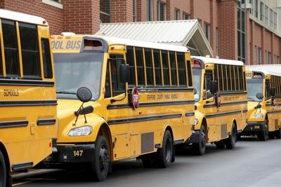 PHOTO: School buses