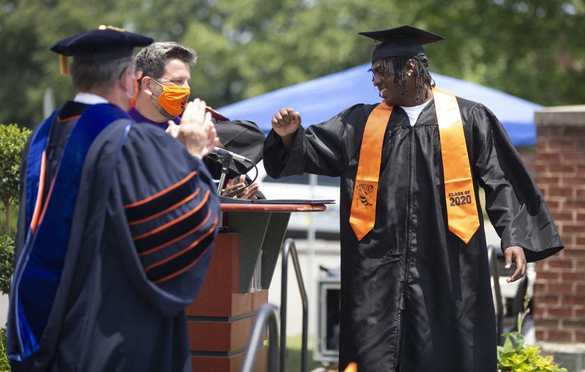James Monroe Graduation