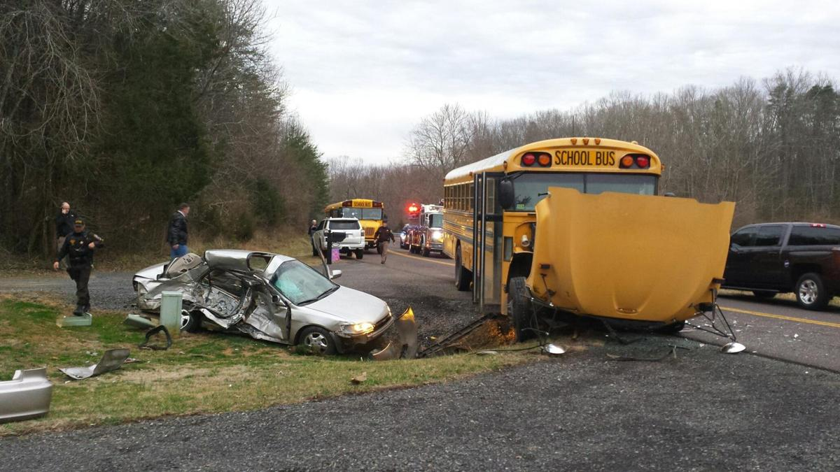 Teen driver charged in school bus crash in Culpeper