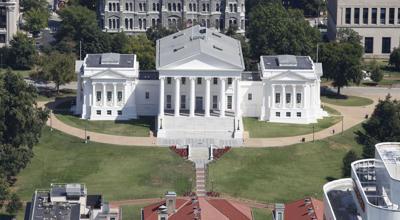 Virginia Capitol aerial