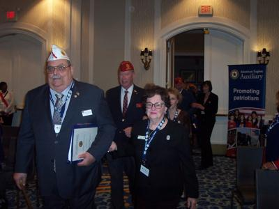 AMERICAN LEGION: Local Auxiliary represented at spring conference