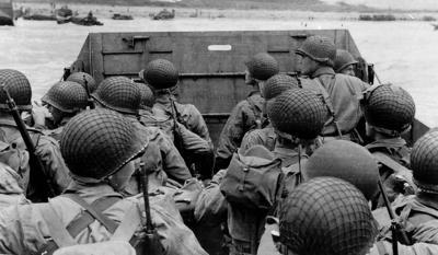 PHOTO: D-Day landing