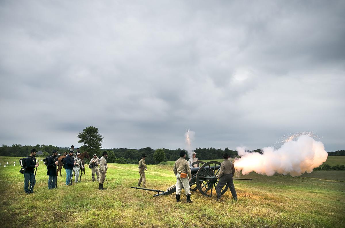 Brandy Station artillery fire