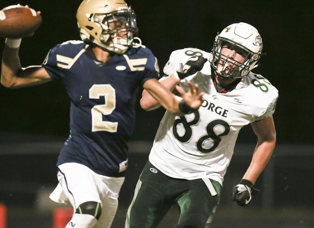 Colonial Forge at Hylton football 2