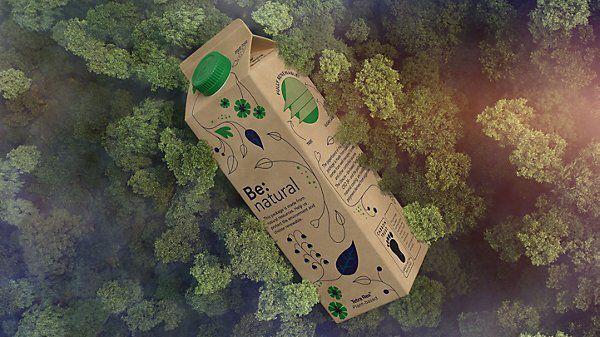 PHOTO: Recyclable carton