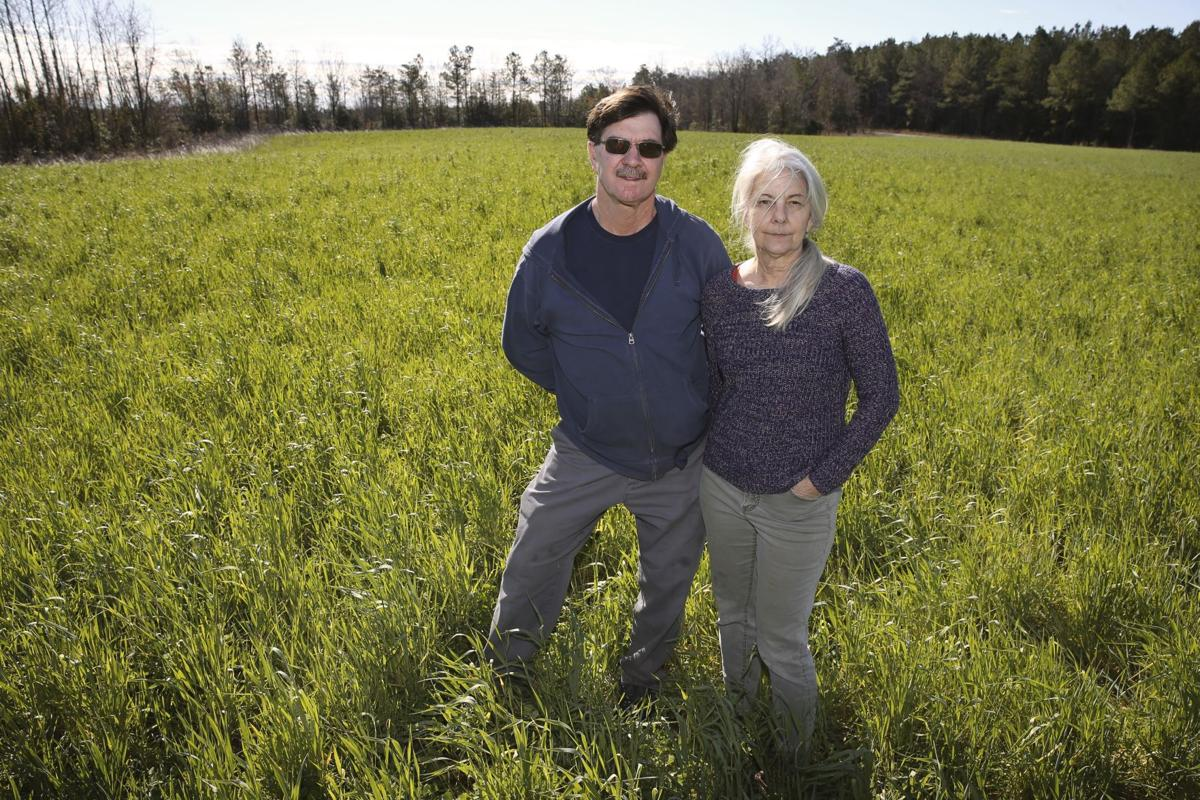 Caroline Farmer Part Of Green Revolution Of Crop Production